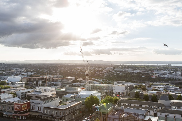 The view across Auckland City.