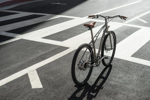 "The sleek <a href=""https://budnitzbicycles.com/bicycles/view/titanium-ebike"" target=""_blank""><u>Budnitz Model E</u></a> is the lightest (and perhaps coolest) e-bike in the world."