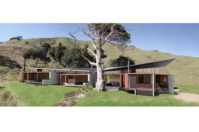 Work in Progress category winner: Northland Beach House by Strachan Group Architects.