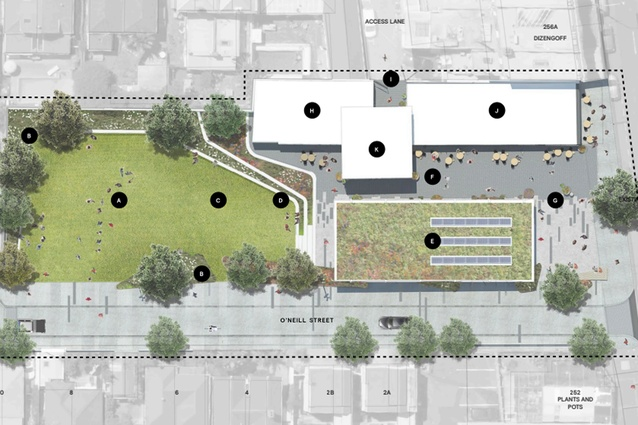 Concept by LandLAB for 254 Ponsonby Road.