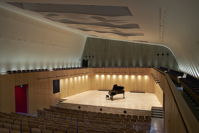 The concert chamber.