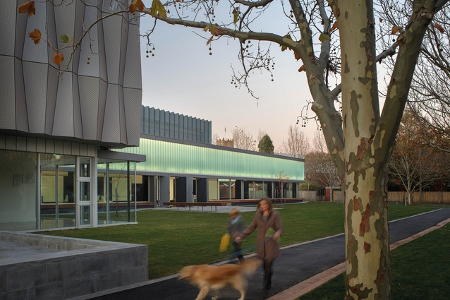 Geelong Grammar School, School of Performing Arts and Creative Education (VIC) by Peter Elliott Architecture and Urban Design.