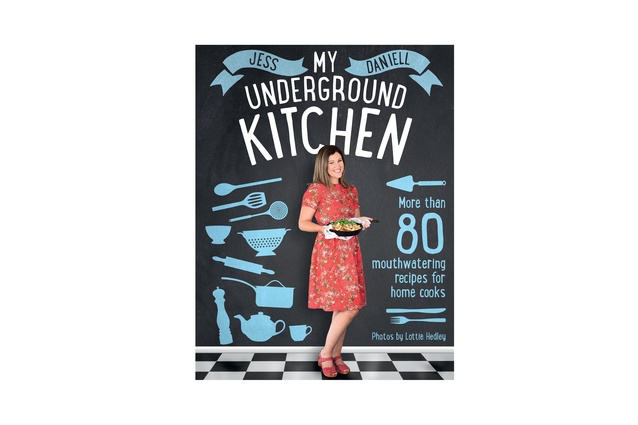 "My Underground Kitchen by Jess Daniell | <a href=""http://www.randomhouse.co.nz/books/jess-daniell/my-underground-kitchen-more-than-80-mouthwatering-recipes-for-home-cooks-9781775537960.aspx"" target=""_blank""><u>  $49.99 from Random House Books.</u></a>"