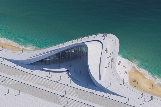 First prize winner: Wellington Wave by Stanislaw Michalowski of Studio Michalowski, Russia.