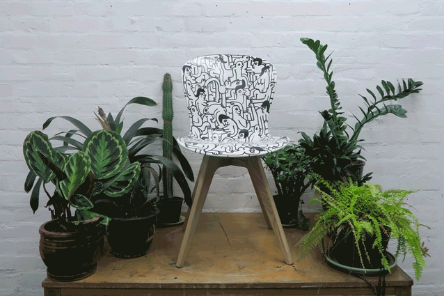 The Karma Sutra chair.